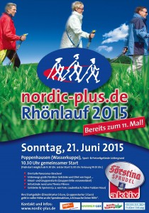 A2 Plakat Rhönlauf 2015