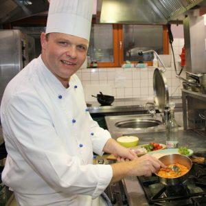 Küchenchef Daniel Bornschein